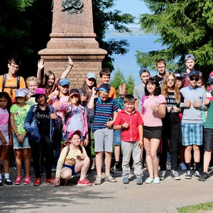 МДКЦ Экскурсия в 4 летней смене 2017