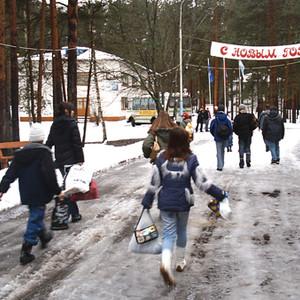 МДКЦ Зима 2007 в детском лагере МДКЦ